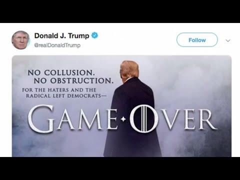 Trump exulte à la publication du rapport de l'enquête russe | AFP News