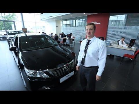 Toyota Camry 2013 обзор и тест Тойота Центр Ясенево