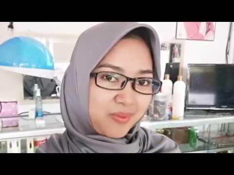 Potong rambut bob hijab plus cuci - YouTube 71b3323585