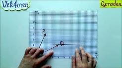 Vektorrechnung Gerade Definition und Erklärung