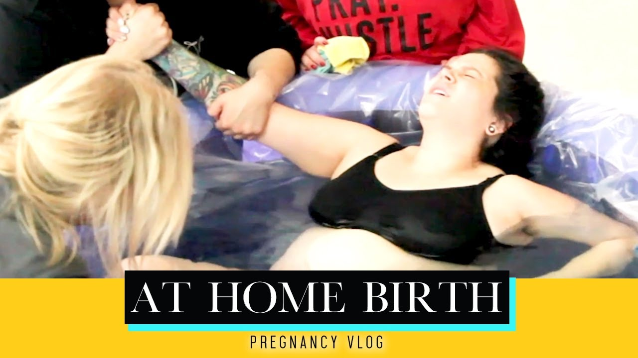 PREGNANCY VLOG - At Home Water Birth | Jacqie Rivera