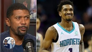 Was Michael Jordan slapping Malik Monk on the head a 'tap of endearment?' | Jalen & Jacoby