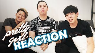 PRETTY GIRL (REACTION) -  Agung Hapsah and Tim2One (Chandra Liow and Tommy Limmm)