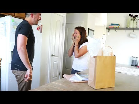 Husband Surprises Wife with a HGUE Gift for their Anniversary! She Had Absolutely NO IDEA!
