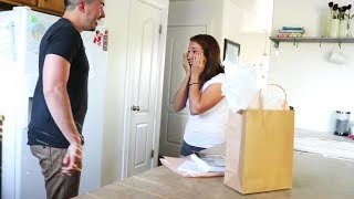 Husband Surprises Wife With A Huge Gift For Their Anniversary!