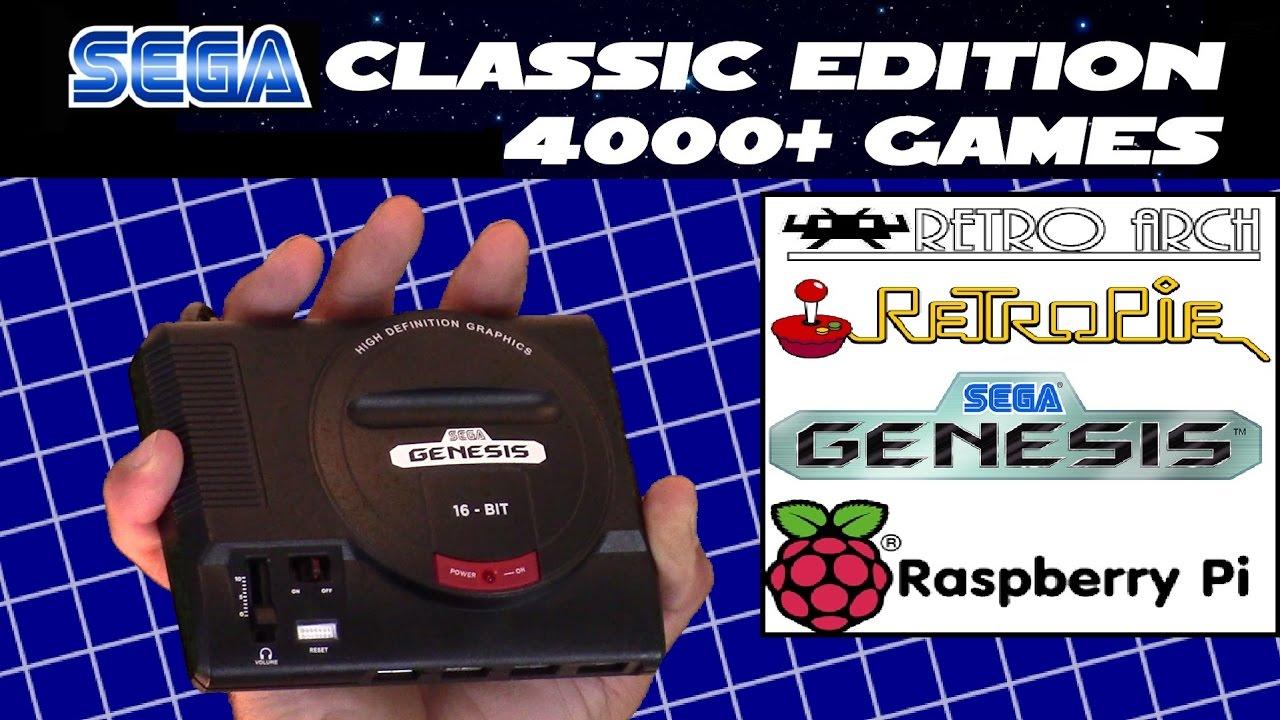 d i y mini sega genesis classic edition 4000 games for 50 bucks