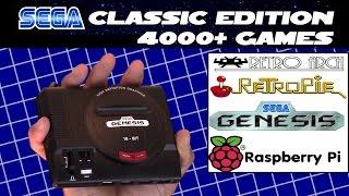 D.I.Y. Mini Sega Genesis Classic Edition 4000+ games for $50 bucks