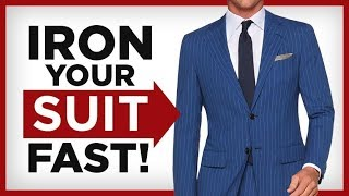 How To Iron A Suit At Home | Wrinkle Free Suit | RMRS