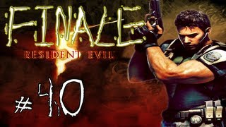 Resident Evil 5 Walkthrough / Gameplay with LazyCanuckk Part 40 - Finale / Ending!