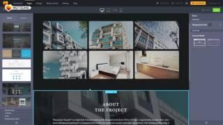 Simplified MotoCMS 3 website builder
