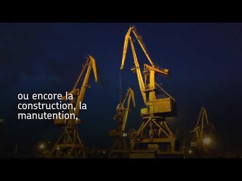 Joints radiaux HFS en élastomère toilé pour les industries lourdes