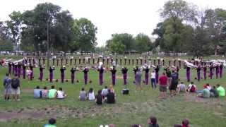 Carolina Crown 2013 in HD - 8/9/2013 Warm-up (DCI World Championship - Semifinals)