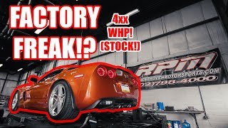 THIS STOCK Z06 MADE HOW MUCH POWER?!?!