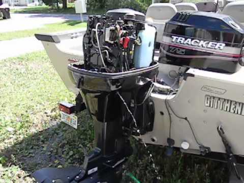 2001 75 hp mercury 2 stroke cold start youtube rh youtube com Mercury Outboards 75 HP Mercury Outboard