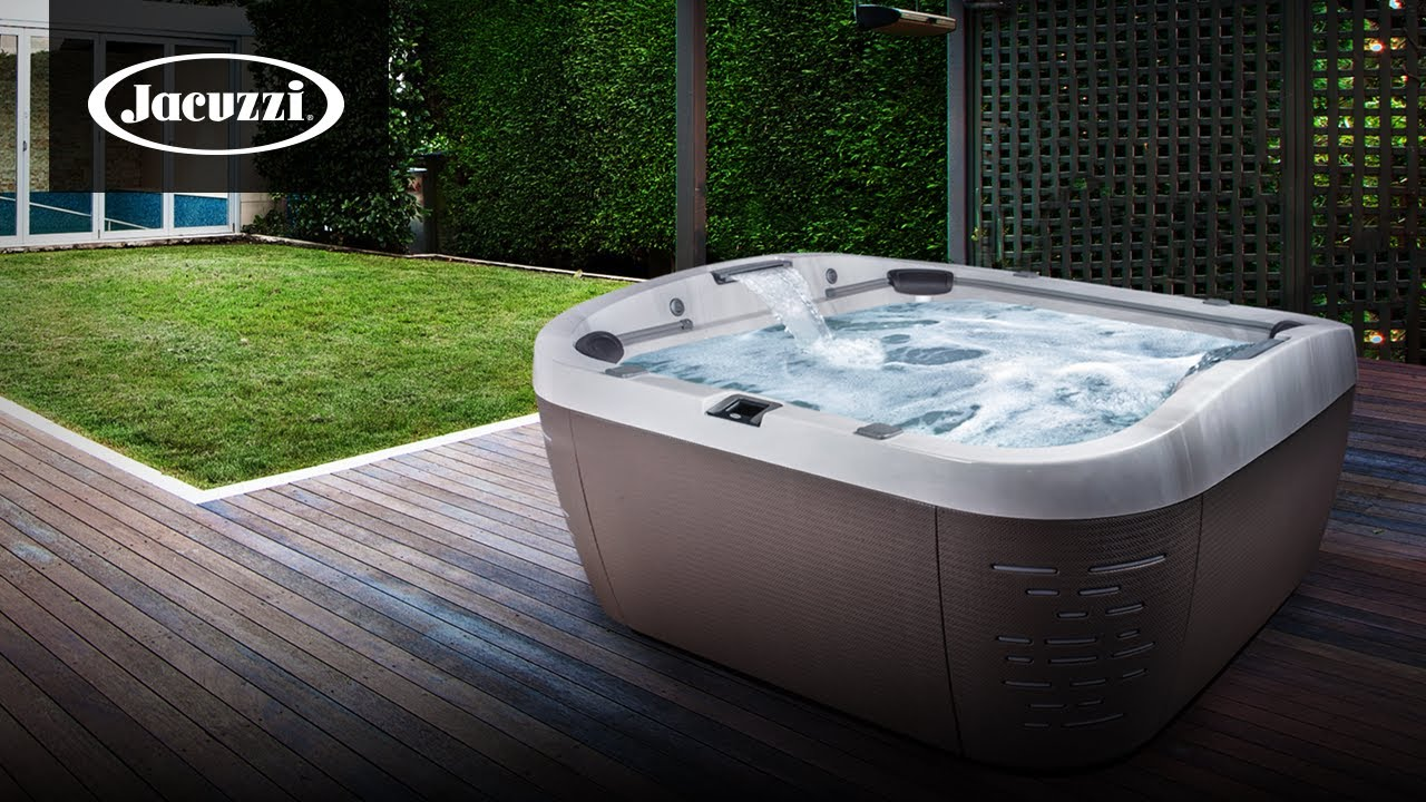 Beautiful jacuzzi hot tub installation ideas part 2 youtube for Hot tub designs and layouts