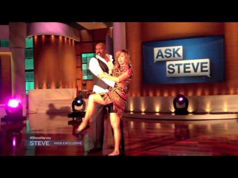 Steve Harvey & Mary Murphy Rehearsing