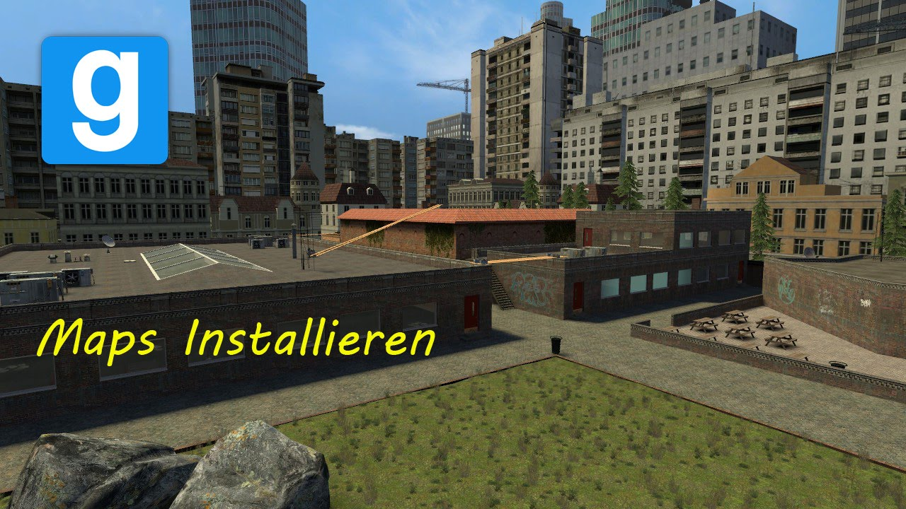 Garry's Mod: How to install Maps without Steam Workshop