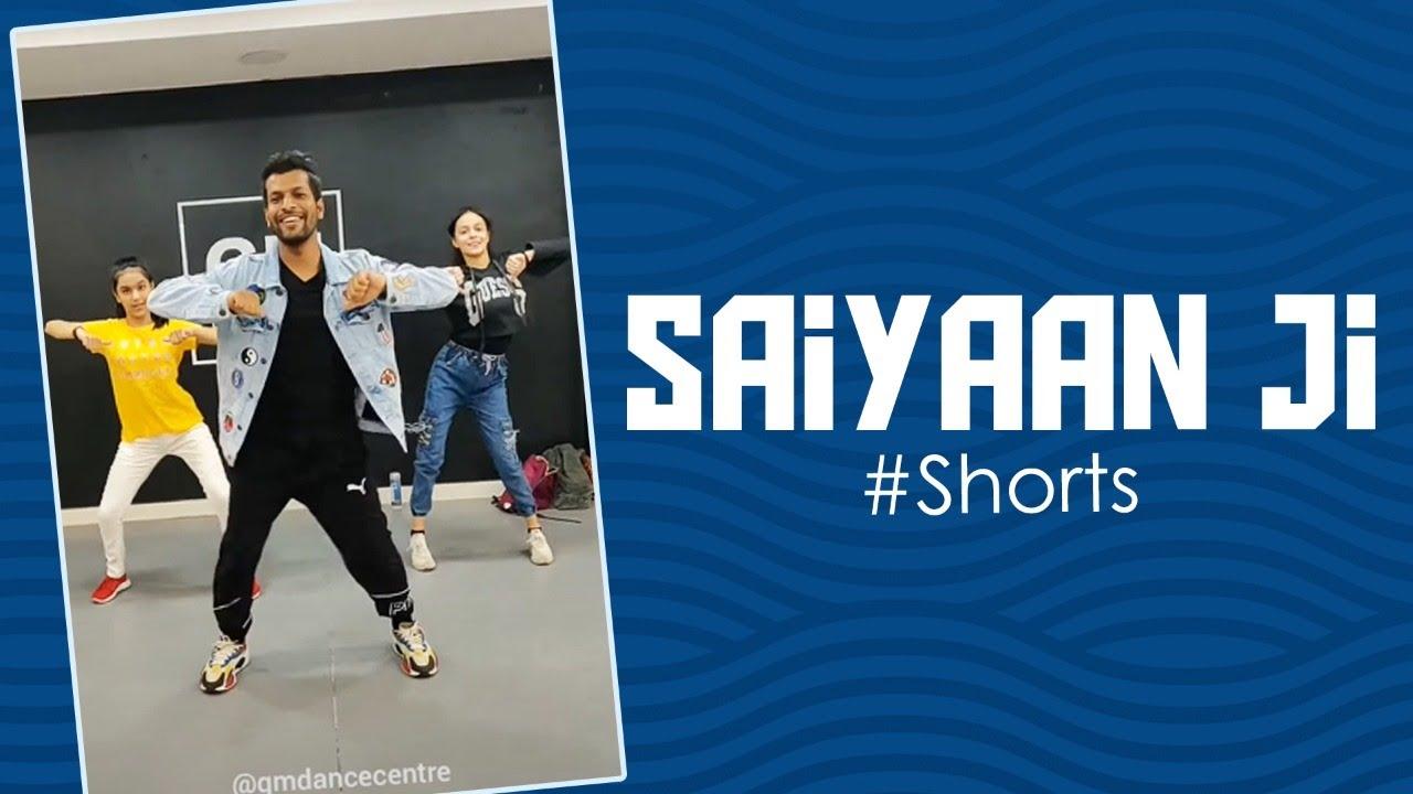 Saiyaan Ji Delhi Workshop 🔥 | Deepak Tulsyan Choreography | G M Dance Centre | #shorts