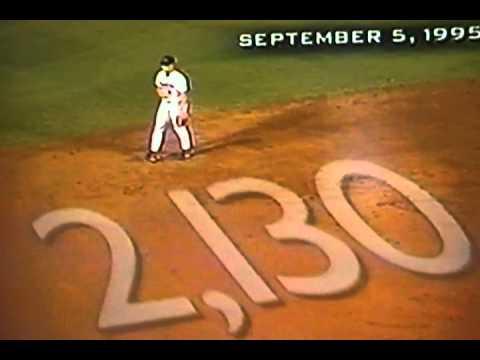 Cal Ripken, Jr. Home Run In Game That Tied Lou Gehrig