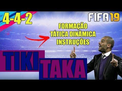 TIKI TAKA FIFA 19 ULTIMATE TEAM | TÁTICAS DINÂMICAS, INSTRUÇÕES E FORMAÇÕES