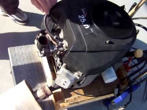 25 hp kawasaki surging #2 - youtube