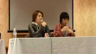 Mizushima's Q&A panel at Dot-Con which was held in Mississauga, Ont...