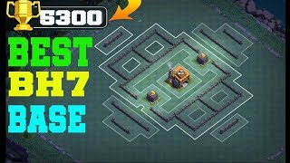 BEST BH7 BASE 2018 ! EASY PUSH 5300 TROPHY  | CLASH OF CLANS