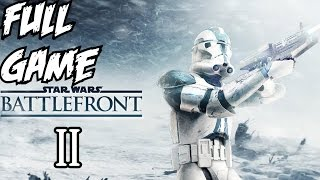 Star Wars Battlefront 2 Gameplay Walkthrough Part 1 Full Campaign Let