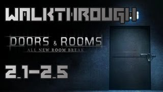 Doors and Rooms Walkthrough Level 2.1 - 2.5