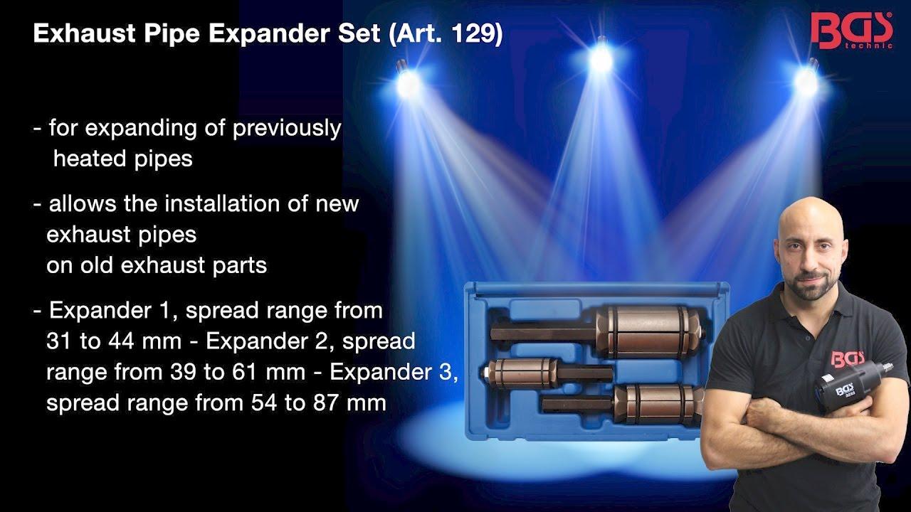 Tutorial: Exhaust Pipe Expander Set (Art  129)