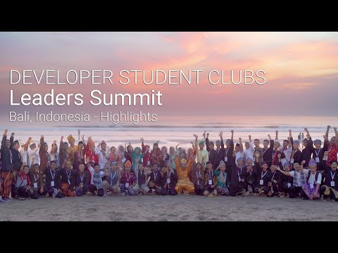 Indonesia Summit 2017 Highlights - Developer Student Club Leads