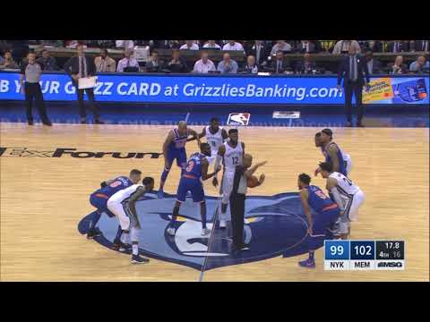 Did NBA officials cost the Knicks a game against the Grizzlies?