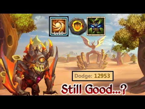 Ghoulem | Old School Hero | 10/10 Sacred Light | 6 Forest Ward | Still Good..? | Castle Clash