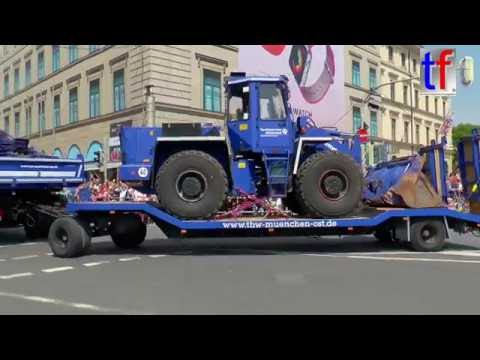 FIRETAGE PARADE München: Federal Agency for Technical Relief / THW Fahrzeuge, 29.05.2016.