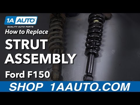 How to Replace Front Strut Assembly 09-14 Ford F-150