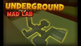 UNDERGROUND MAD LAB | Build a Boat for Treasure ROBLOX