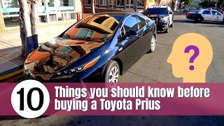 10 things you should know before buying a Toyota Prius