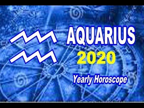 Aquarius Yearly Horoscope 2020