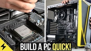 How to build a Gaming PC in under 30 minutes! (2018)