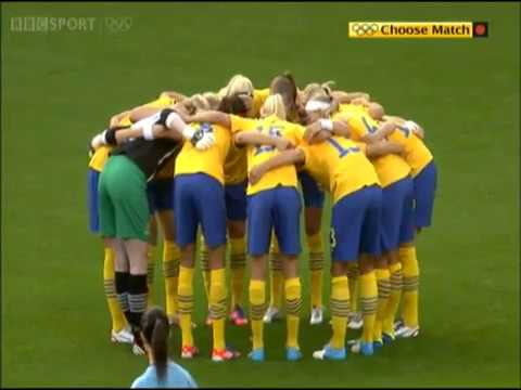 [2012-07-25] Olympic Games (Group F) // Sweden 4-1 South Africa (First Half)