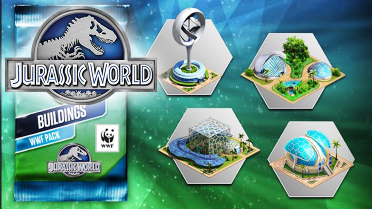 Jurassic World The Game Earth Day Update All New Buildings Decorations