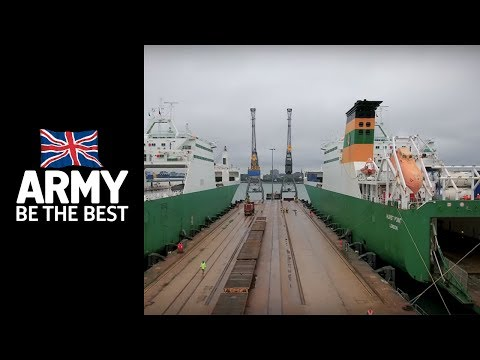 Port Operator - Roles in the Army - Army Jobs