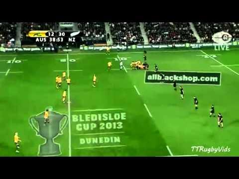 All Blacks vs Wallabies Bledisloe Cup - Game 3 2013