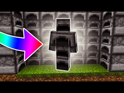 I AM A FURNACE! - Minecraft SKYWARS TROLLING (I AM STONE CHALLENGE!)