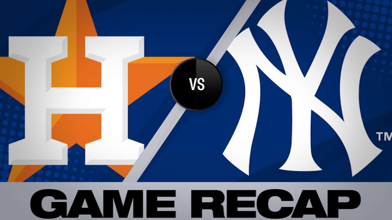 Stanton Leads Yanks To 8th Straight Win Astros Yankees Game Highlights 6 22 19