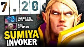 EPIC GAME!! SUMIYA INVOKER COME BACK WRECKING RANK 180 CHINA SERVER - DOTA 2 INVOKER 7.20D