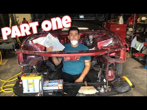 How To Shave An Engine Bay || PART ONE