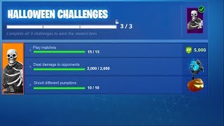 *NEW* HALLOWEEN EVENT in Fortnite! (Challenges, Rewards, Events & More!)