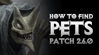 Diablo 3 - HOW TO FIND PETS IN SEASON 11 - MENAGERIST GOBLIN FARMING - PWilhelm