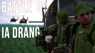 The Battle Ia Drang Part 1[We Were Soldiers](ARMA 3 Unsung MOD)